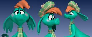 Nessie Expressions by Lemurfeature