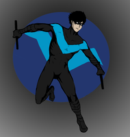 Nightwing by tiagorcp