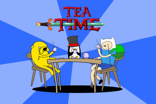 Tea Time by Pencilly