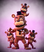 Adventure Nightmare Freddy! by SmashingRenders