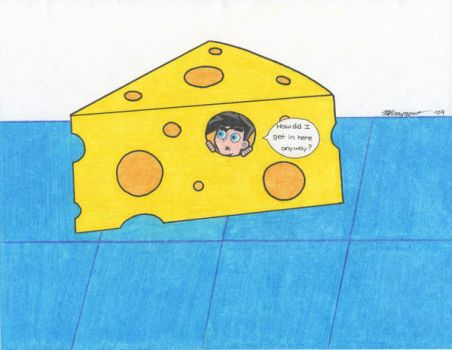 Danny and Cheese by DPFan4Ever