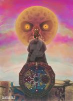 Majora's Mask by kuatas