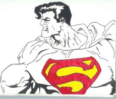 Man of Steel by onetouchtakeover