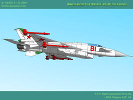 MiG E-8 1-4-3 by TheXHS