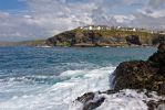 Port Isaac From The Rocks by runique