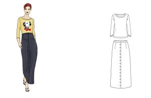 Tendencia 2-3 By Fashiondrawings by fashiondrawings