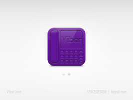 Icon - Viber by hehedavid