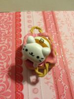 Kawaii Nyan Nyan Nyanko Bread in a Basket Charm by mia831