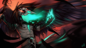 Raven Lord Swain by ShiChel