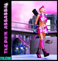 The Pink Assassin by evoluzione