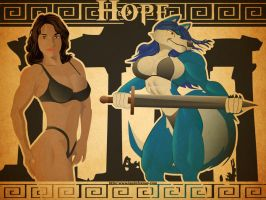 Hope Art  Nouveau by Samoht-Lion
