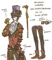 steampunk design by chaoticNonchalant