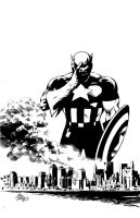 Never Forget 9.11 Heroes Inks by MikeDeodatoJr