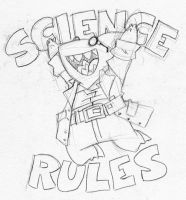 Science Rules by EnterPraiz