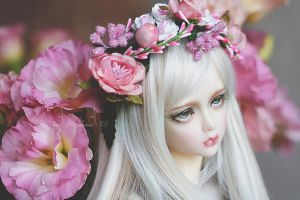 Absynthia in flowers by AyuAna