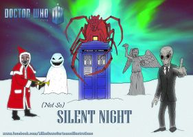 Doctor Who - (Not So) Silent Night by mikedaws