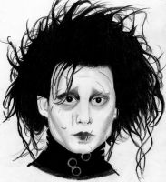 Edward Scissorhands by Pinkadywinkwink