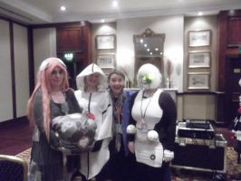 Kitacon 2012 Meeting GLaDOS by Blueberry-Tale