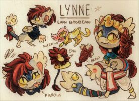 Lynne Ref. Sheet [Commission] by Pollock-InThe-Toilet