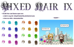 MapleStory Mixed Hair 9 : Short and Long by Ashel-iia