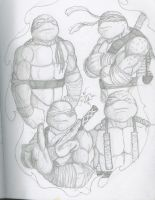 my TMNT by DominicanFlavor