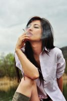 Morning cigarette by Tonyna
