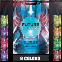 FUTURE ELECTRO PSD FLYER TEMPLATE by MCerickson
