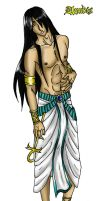 Sexy Anubis recolored by Darksevern