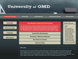 U of OMD interface design by nicolebarker