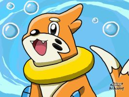 Buizel Fan Art by 29steph5