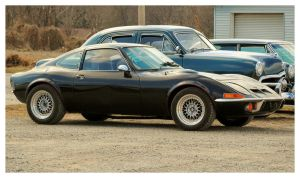 Bad Black Opel GT by TheMan268