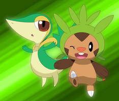 Grass Couples by Cansin13Art