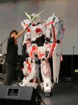 My Unicorn Gundam Cosplay on the stage by Clivelee