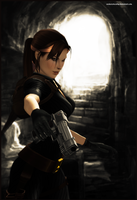 Inside the Tomb - Lara Croft by andersoncathy