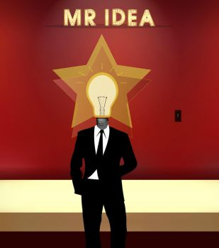 Mr Idea Guy by RdaVinci36