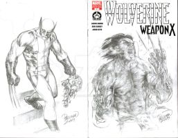 Wolverine 1 sketch cover by guisadong-gulay