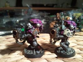 Nemesis Claws Noise Marines Slaanesh 1 by skincoffin
