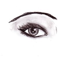 Bright Eye Charcoal by MarissaWalker