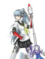 Persona 4 Arena/Ultimax - Labrys by aetheria2391