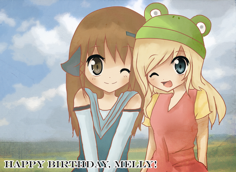 Happy Birthday Melly by Roxanne-Chan