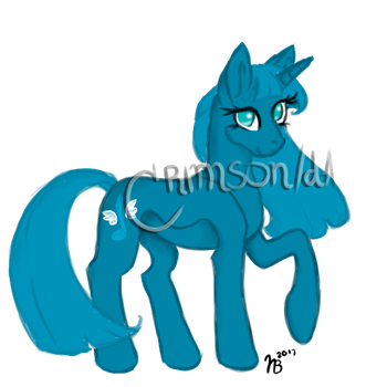 Pony Adopt [Auction][OPEN] by c-r-i-m-son