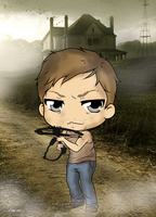 The Walking Dead - Daryl Dixon by Mibu-no-ookami