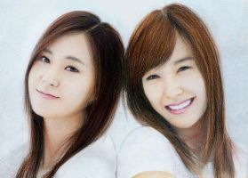 Tiffani and Yoona by aoisugimoto