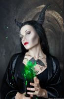 Tattoed Princess Project: Maleficent by WeissEpilog
