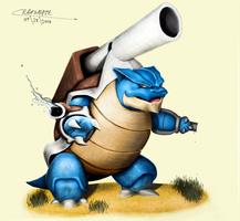 MEGABLASTOISE by Chenks-R