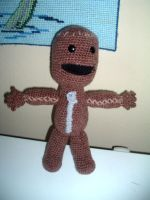Sackboy from Little Big Planet by Nanettew9