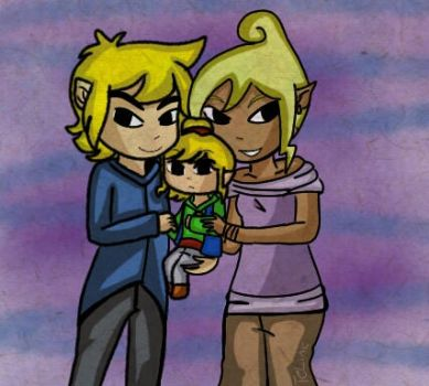 Request: Tetra, Link and Tilley  by TeLinkfan1