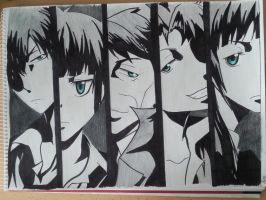 Psycho Pass by aBunny15