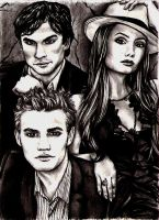 Vampire Diaries by vvveverka