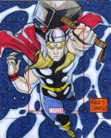 Thor artist proof commission by mdavidct